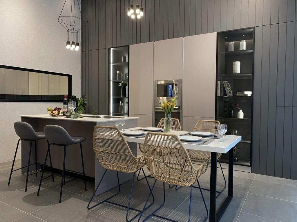 Signature Kitchen Sanctuary Mall Showroom, Commercial, Interior Designer, One Space Sdn Bhd, Modern