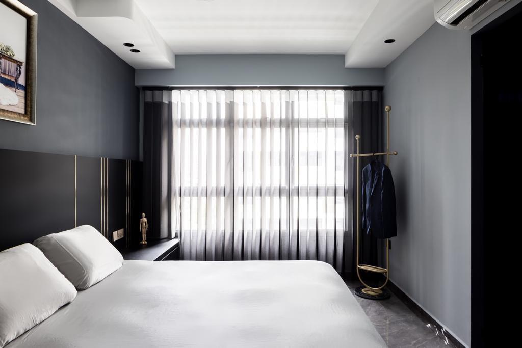 Contemporary, HDB, Bedroom, Tampines North Drive 1, Interior Designer, Jialux Interior