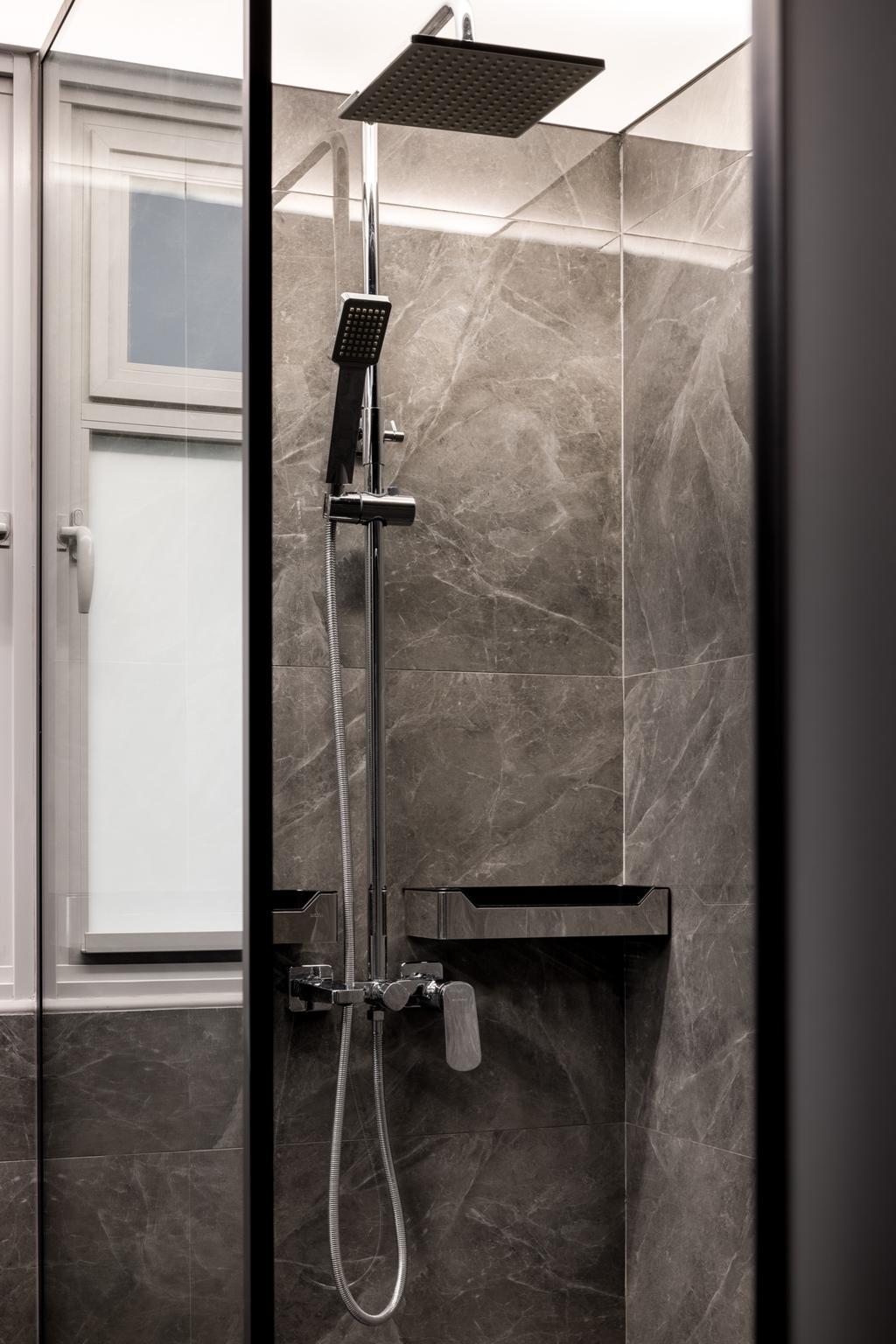 Contemporary, HDB, Bathroom, Tampines North Drive 1, Interior Designer, Jialux Interior