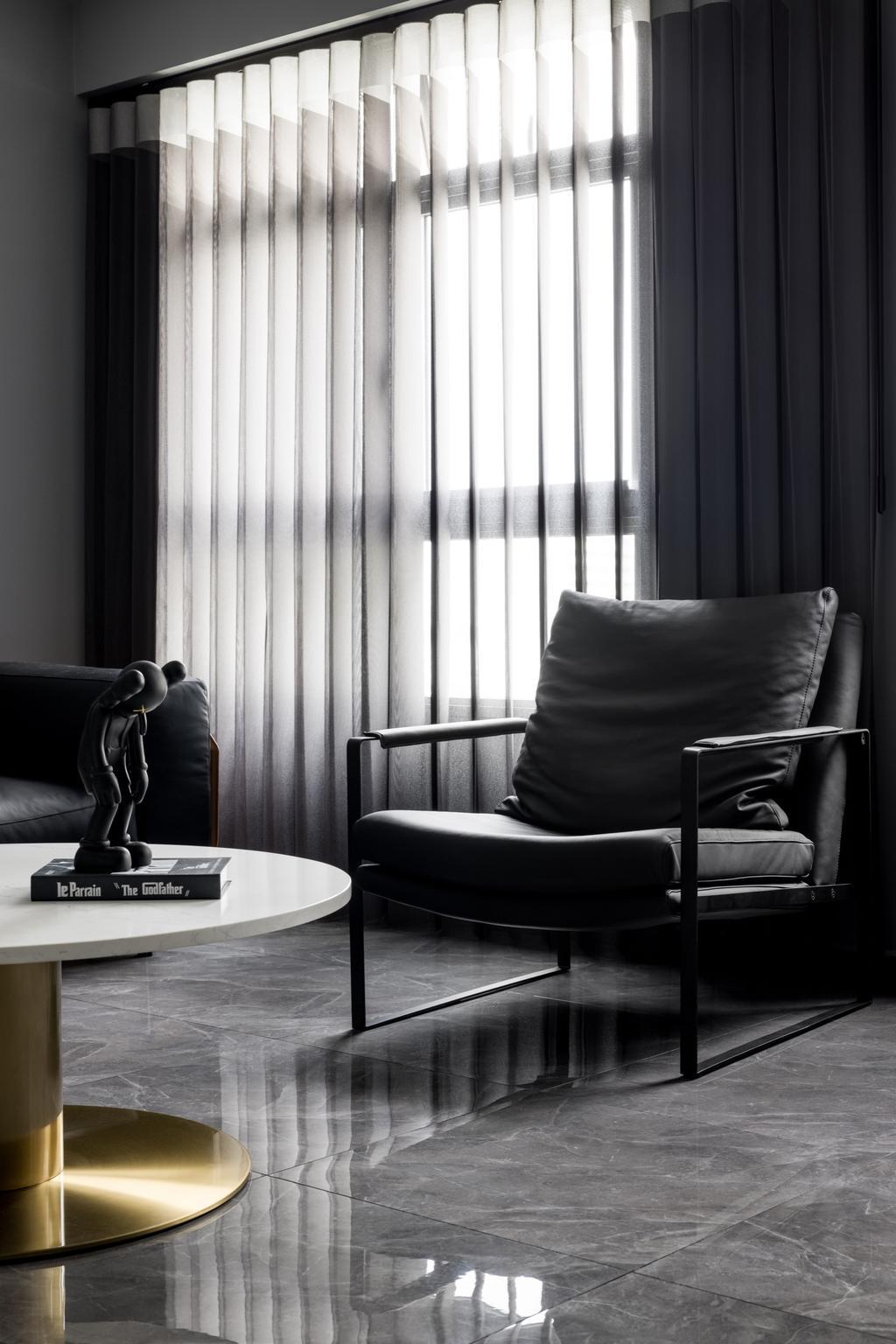 Contemporary, HDB, Living Room, Tampines North Drive 1, Interior Designer, Jialux Interior