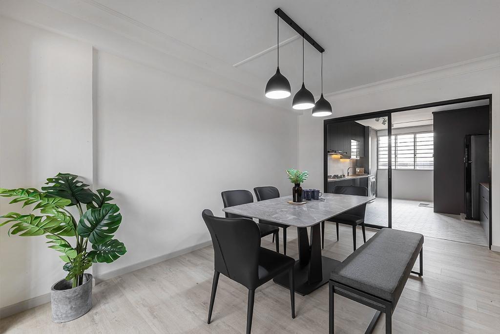 Modern, HDB, Dining Room, Serangoon North Avenue 4, Interior Designer, ARK-hitecture, Contemporary