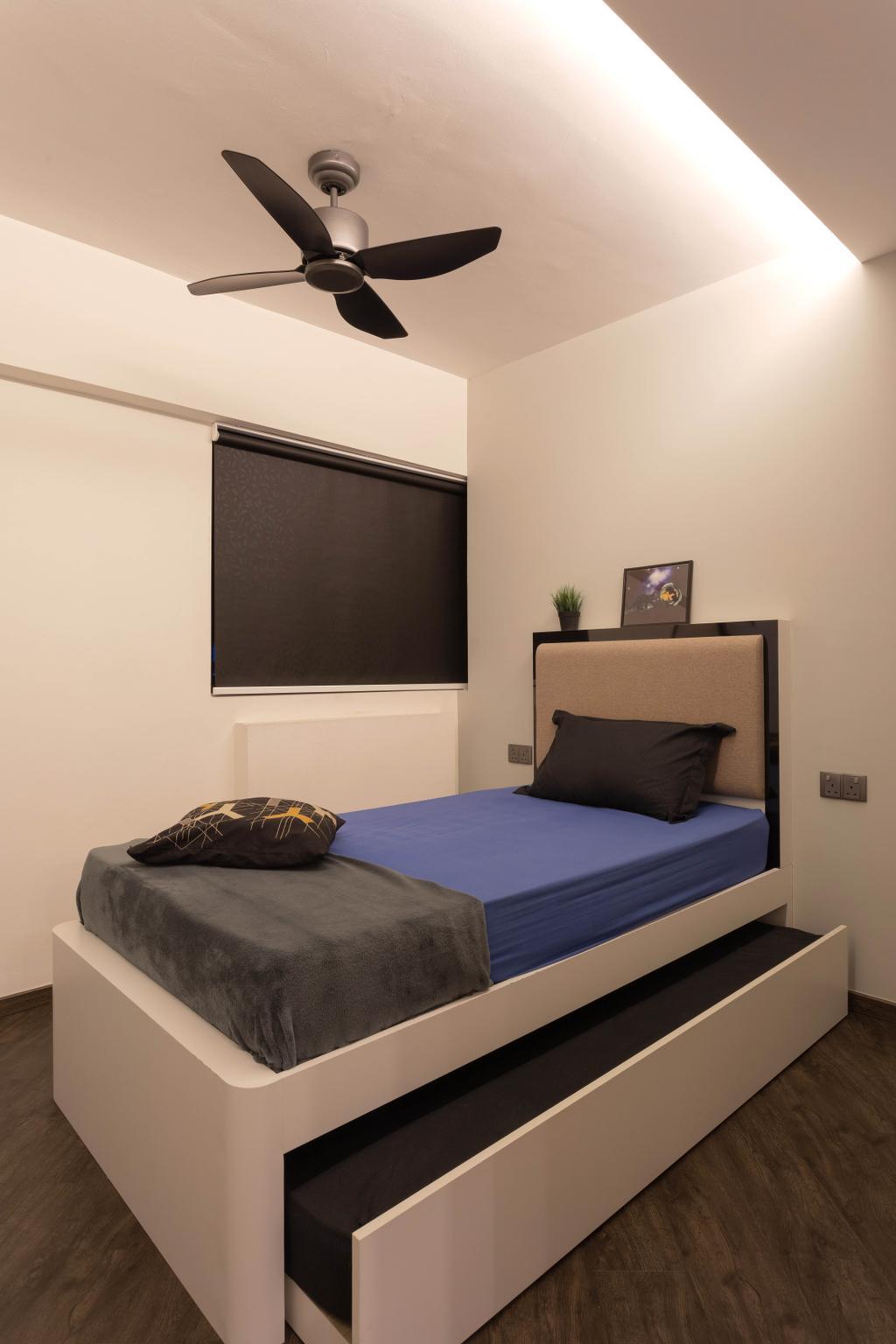 Contemporary, HDB, Bedroom, Tampines Street 11, Interior Designer, M3 Studio