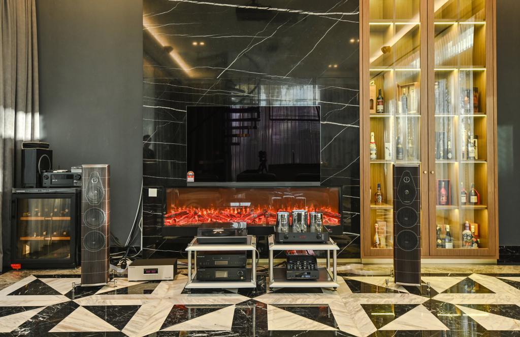 Modern, Landed, Grove Lake Fields, Sungai Besi, Interior Designer, One Space Sdn Bhd
