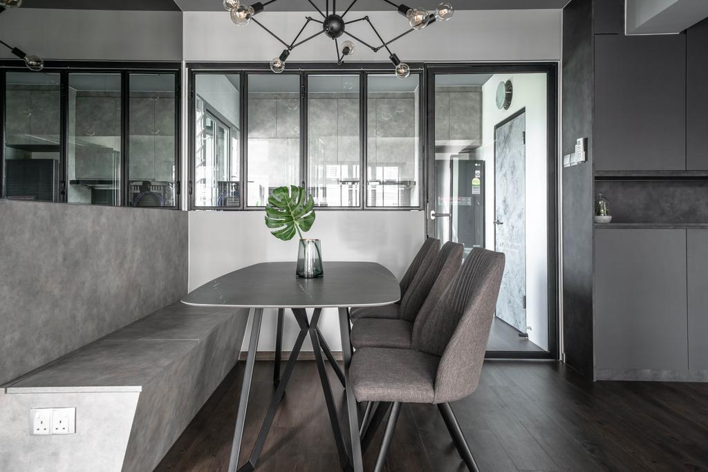 Contemporary, HDB, Dining Room, Canberra Street, Interior Designer, Key Concept