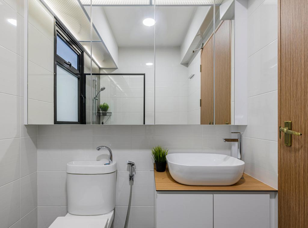 Minimalistic, HDB, Bathroom, Sengkang West Road, Interior Designer, Project Guru