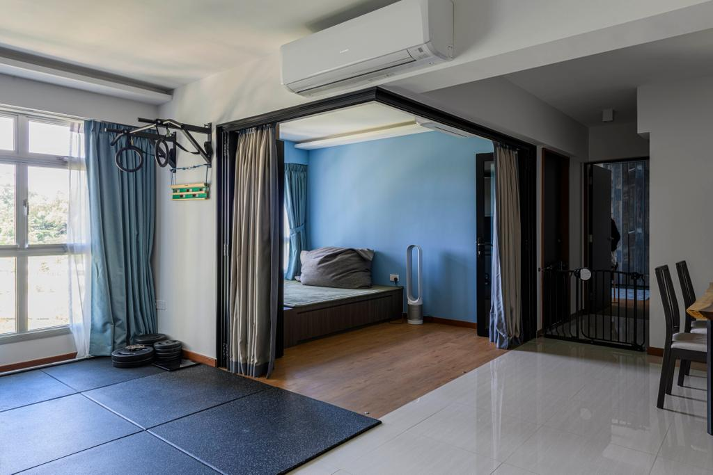 Eclectic, HDB, Study, Canberra Street, Interior Designer, Project Guru