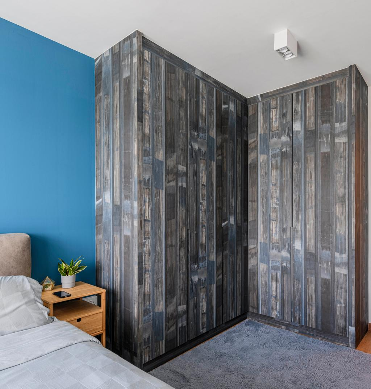 Eclectic, HDB, Bedroom, Canberra Street, Interior Designer, Project Guru