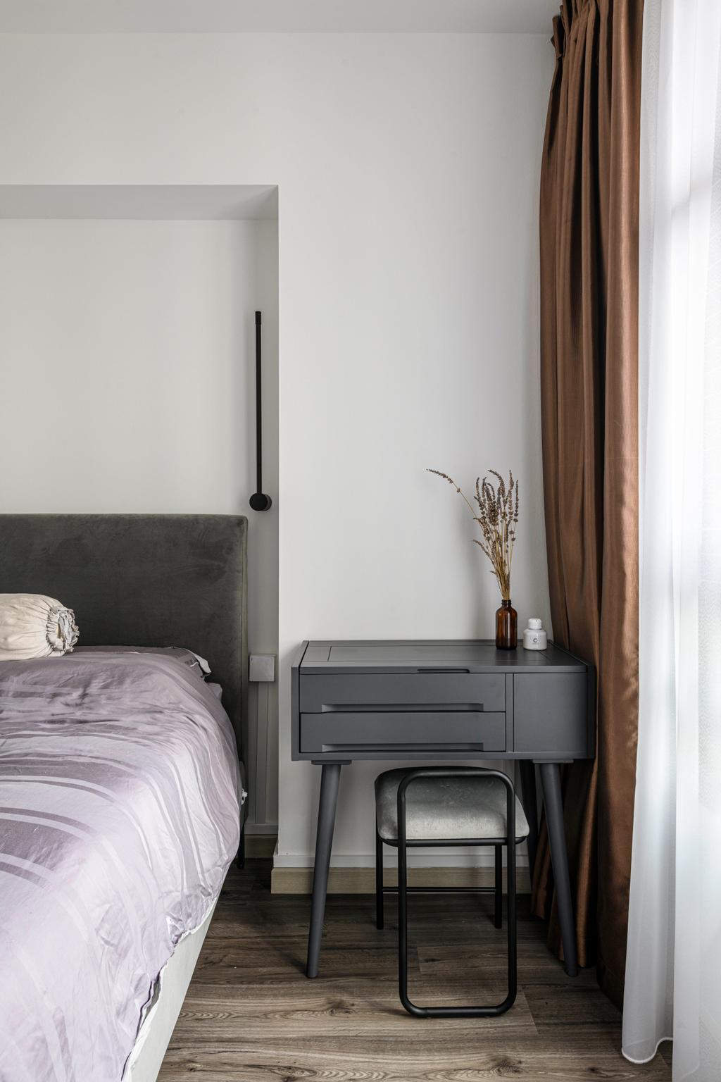 Eclectic, HDB, Bedroom, Geylang Serai, Interior Designer, Project Guru, Modern