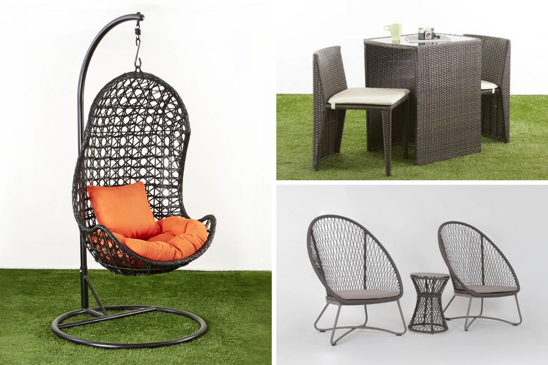 Outdoor furniture for balconies and garden in Singapore