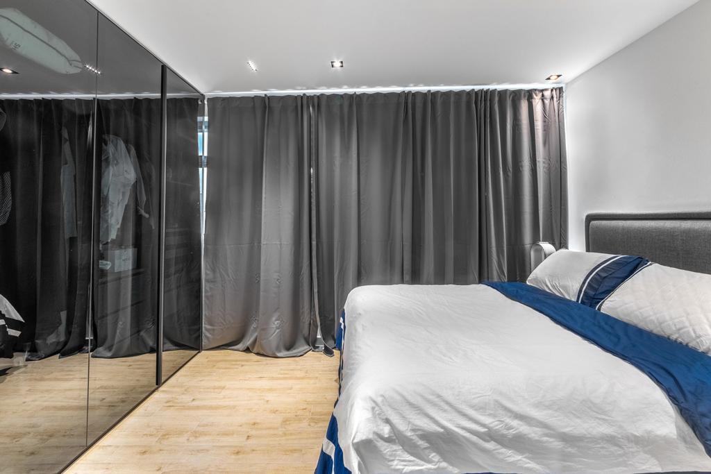 Modern, HDB, Bedroom, Tampines Avenue 1, Interior Designer, Livspace, Scandinavian