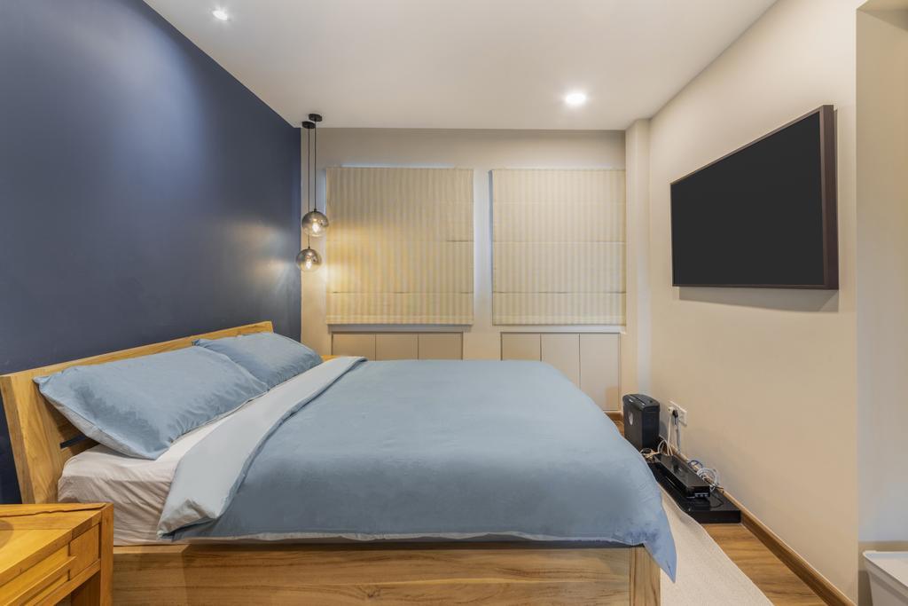 Contemporary, HDB, Bedroom, Jelapang Road, Interior Designer, Livspace