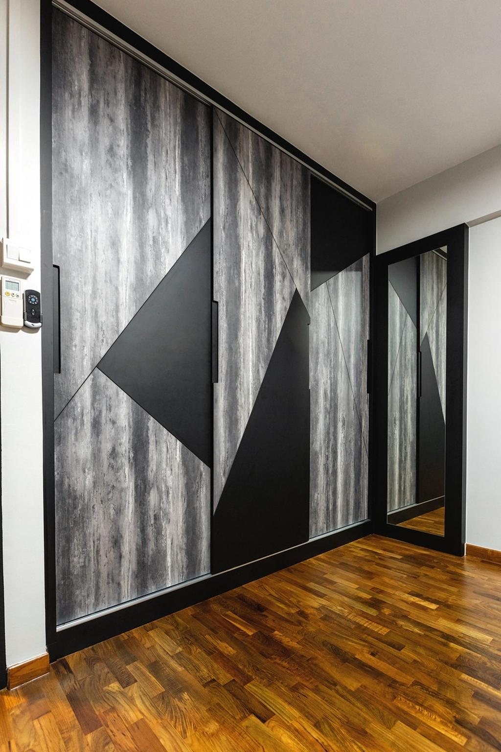 Modern, HDB, Bedroom, Hougang Avenue 8, Interior Designer, The Wooden Platform, Contemporary