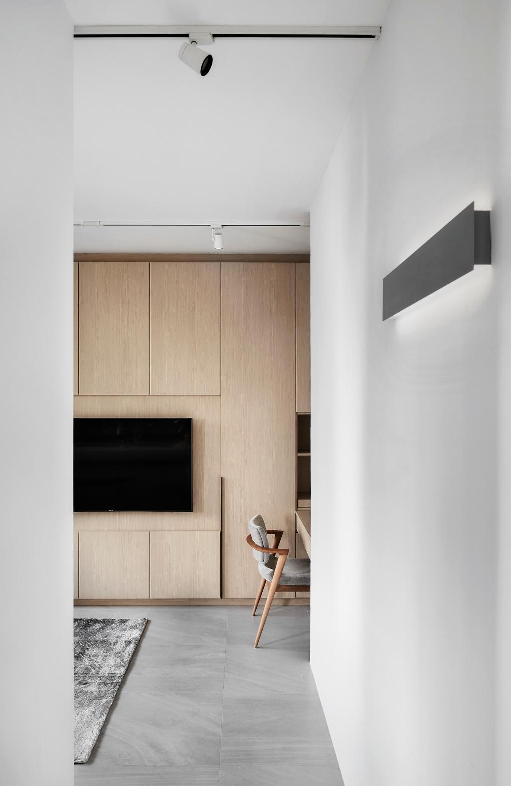 Minimalistic, Condo, Living Room, The Princeton, Interior Designer, Para.graph