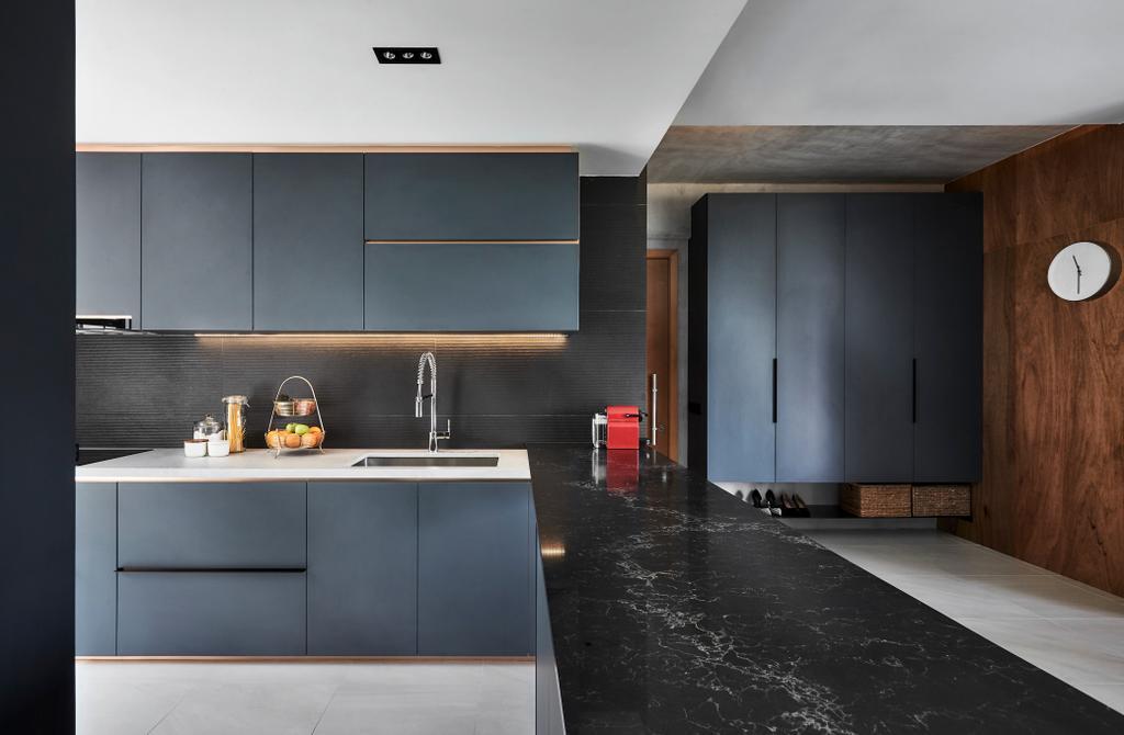 Contemporary, Condo, Kitchen, Belmond Green, Interior Designer, Para.graph