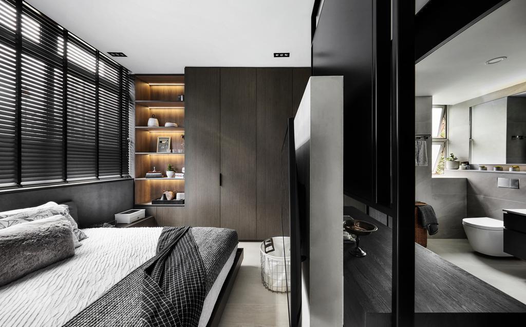 Contemporary, Condo, Bedroom, Belmond Green, Interior Designer, Para.graph