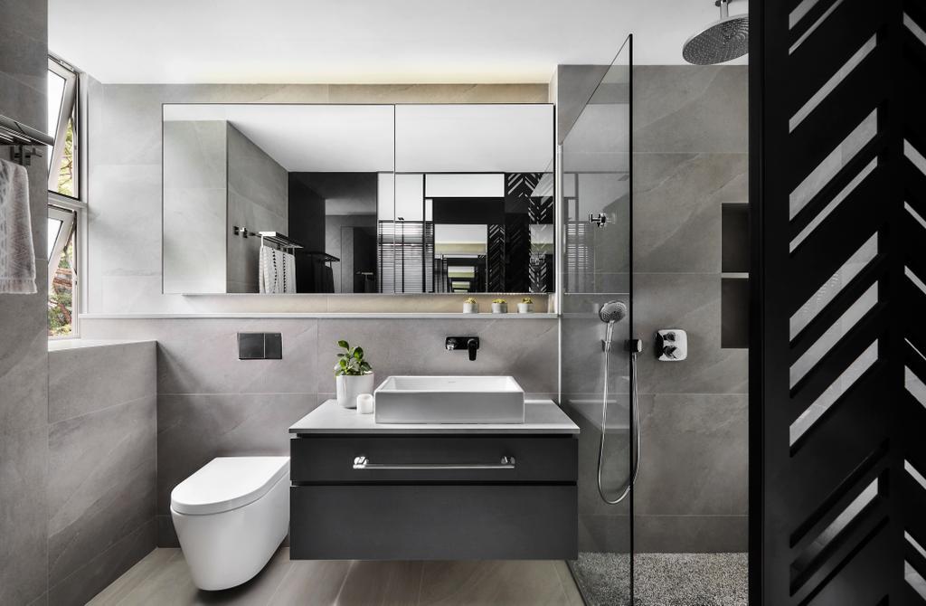 Contemporary, Condo, Bathroom, Belmond Green, Interior Designer, Para.graph
