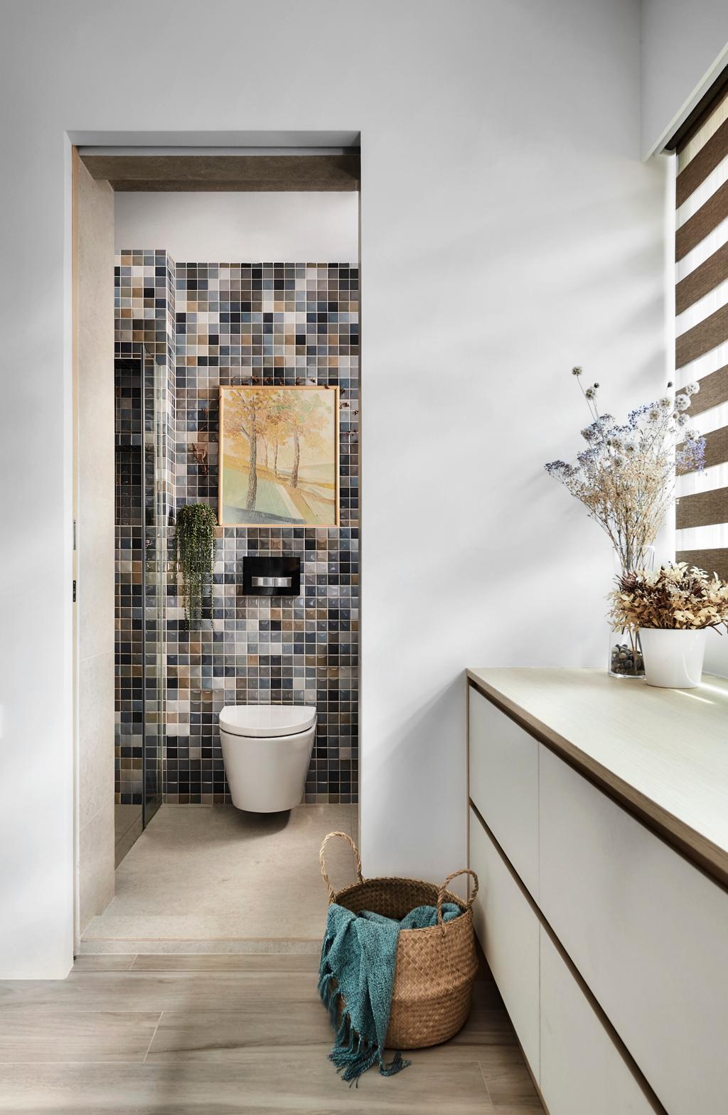 Contemporary, HDB, Bathroom, Pasir Ris, Interior Designer, Para.graph