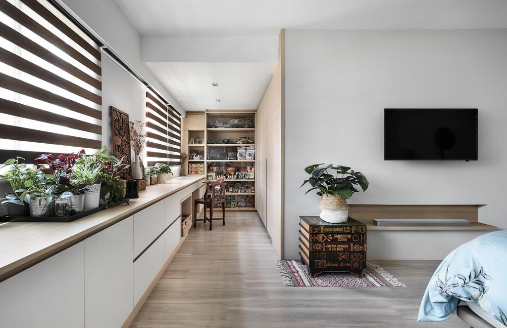 Contemporary, HDB, Bedroom, Pasir Ris, Interior Designer, Para.graph
