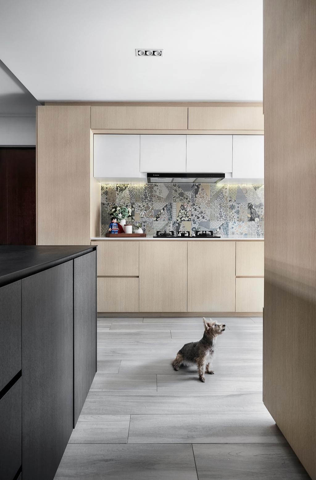 Contemporary, HDB, Kitchen, Pasir Ris, Interior Designer, Para.graph
