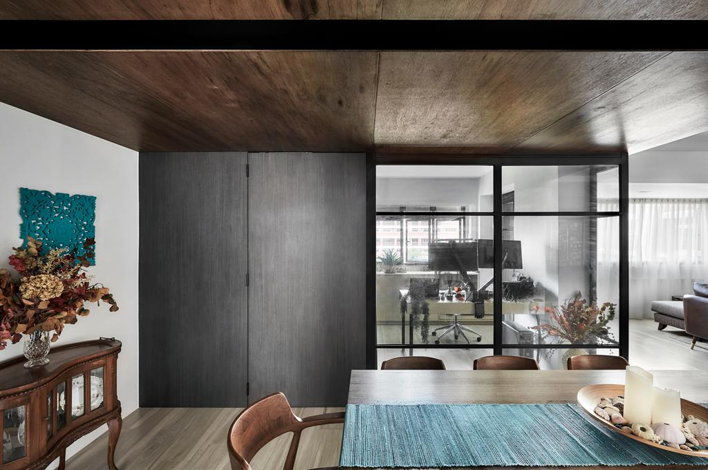 Contemporary, HDB, Dining Room, Pasir Ris, Interior Designer, Para.graph