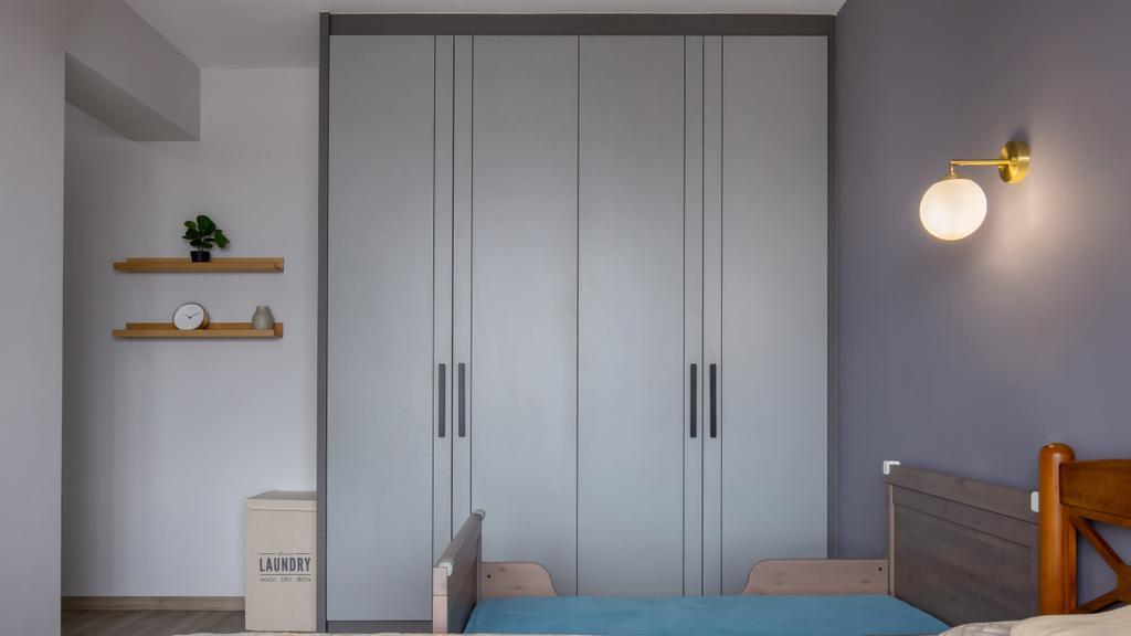 Modern, HDB, Bedroom, Clementi Avenue 3, Interior Designer, Yang's Inspiration Design, Scandinavian