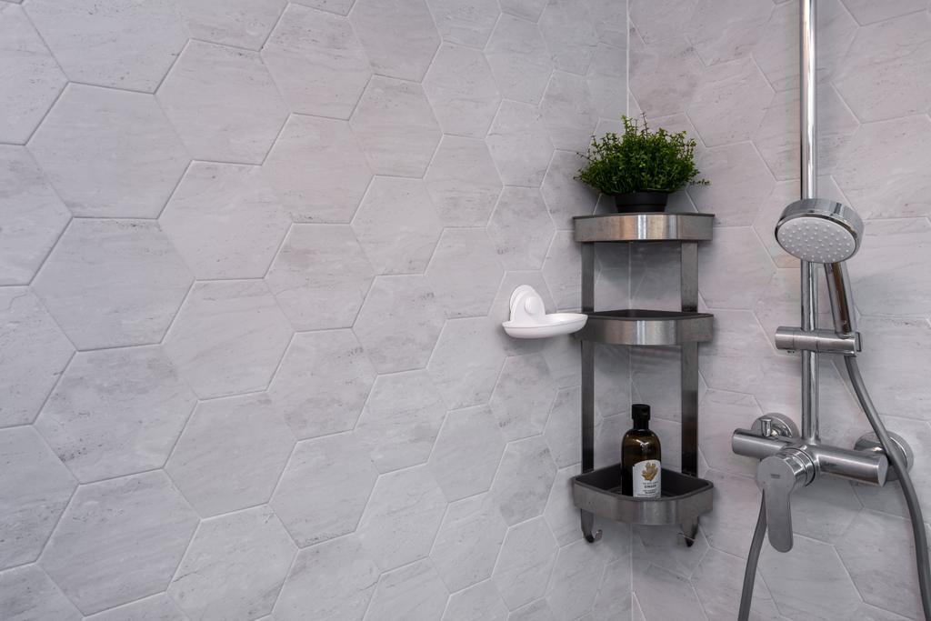 Modern, HDB, Bathroom, Clementi Avenue 3, Interior Designer, Yang's Inspiration Design, Scandinavian