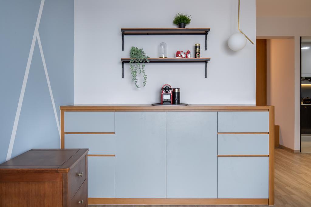 Modern, HDB, Living Room, Clementi Avenue 3, Interior Designer, Yang's Inspiration Design, Scandinavian