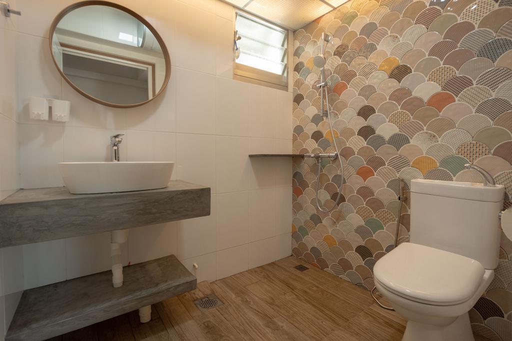 Modern, HDB, Northshore Drive, Interior Designer, Brown Studio Interior Design, Scandinavian