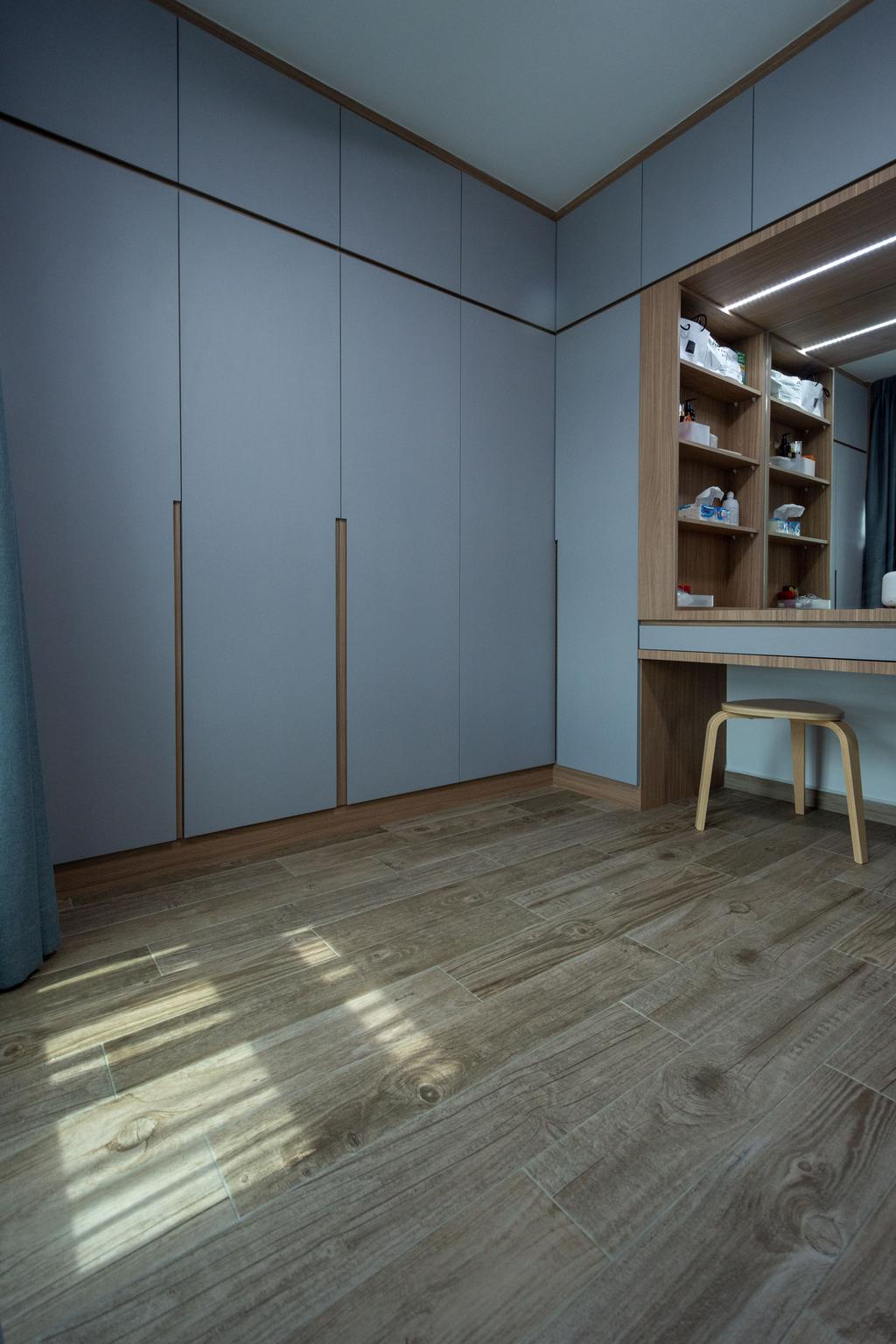 Modern, HDB, Bedroom, Northshore Drive, Interior Designer, Brown Studio Interior Design, Scandinavian