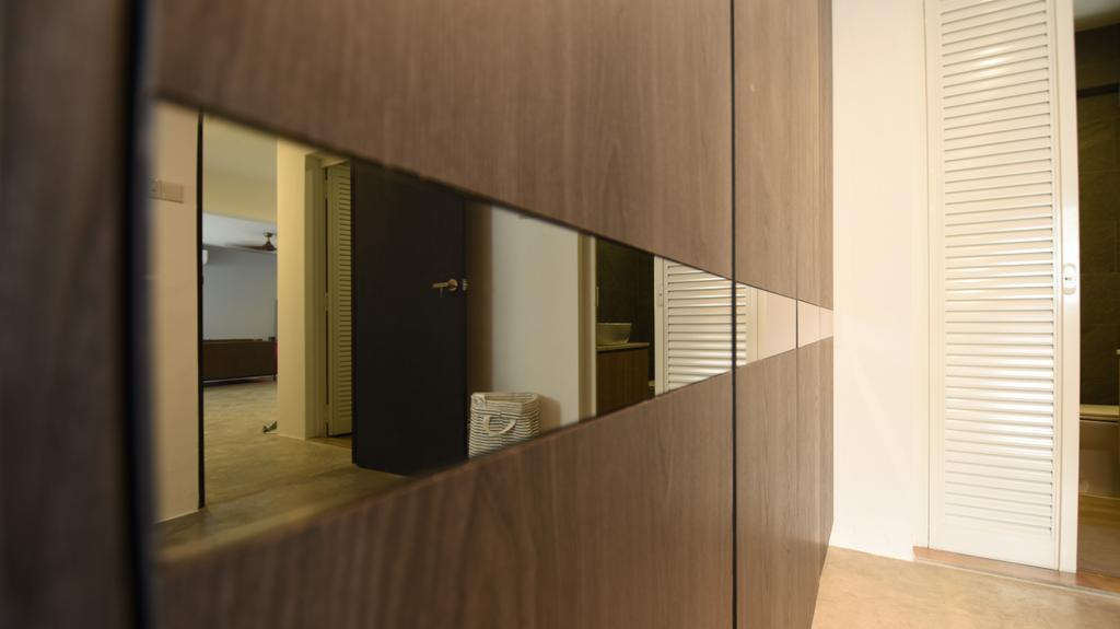 Contemporary, HDB, Bedroom, Woodlands Street 41, Interior Designer, Brown Studio Interior Design