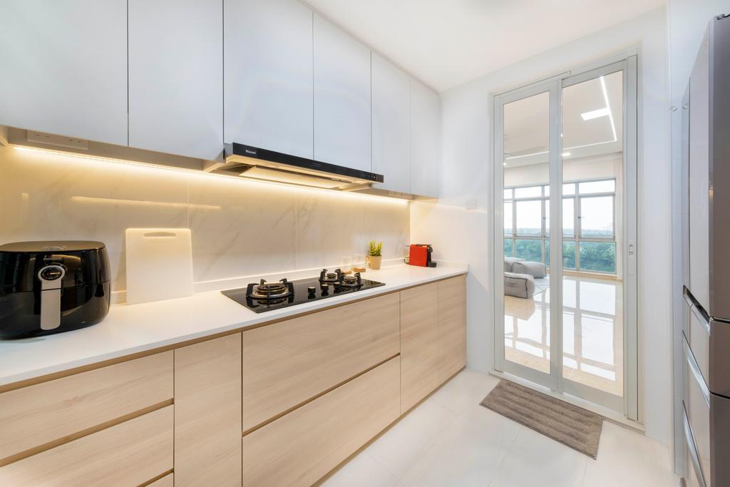 Scandinavian, Condo, Kitchen, Costa Rhu, Interior Designer, Starry Homestead