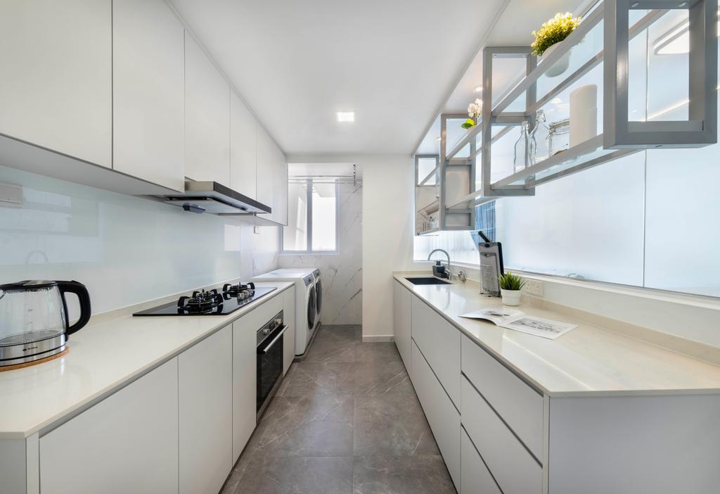 Modern, Condo, Kitchen, Citylights, Interior Designer, Starry Homestead