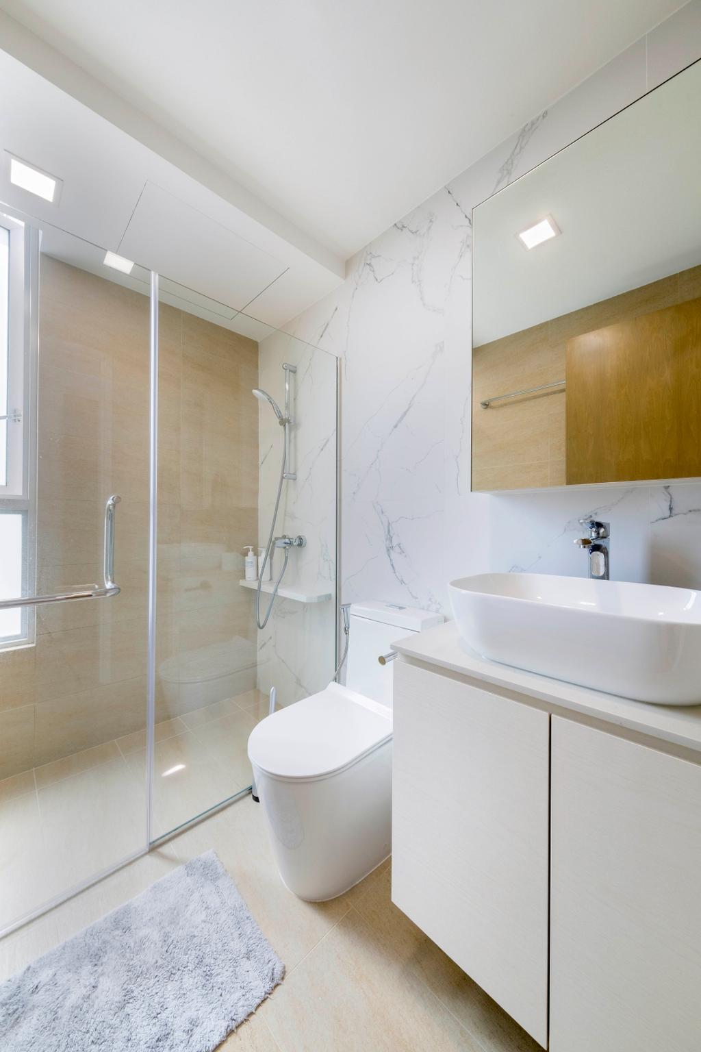 Modern, Condo, Bathroom, Citylights, Interior Designer, Starry Homestead