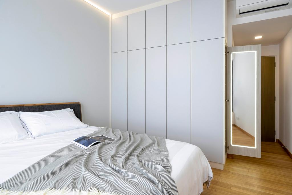 Modern, Condo, Bedroom, Citylights, Interior Designer, Starry Homestead