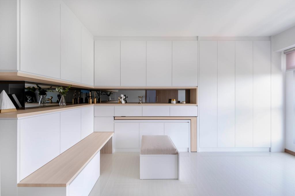 Scandinavian, HDB, Northshore Drive, Interior Designer, Starry Homestead, Minimalistic