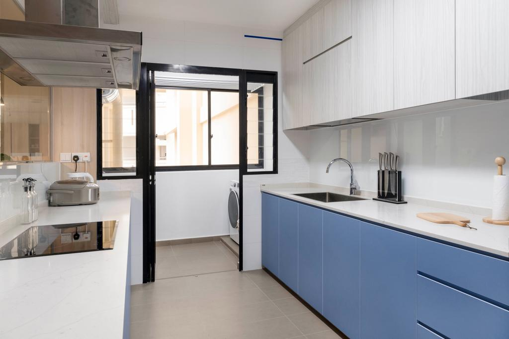 Scandinavian, HDB, Kitchen, Bukit Batok Street 41, Interior Designer, Starry Homestead