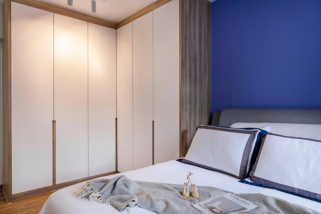 Scandinavian, HDB, Bedroom, Alkaff Crescent, Interior Designer, Starry Homestead