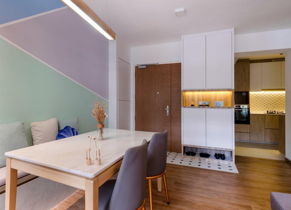 Scandinavian, HDB, Living Room, Alkaff Crescent, Interior Designer, Starry Homestead