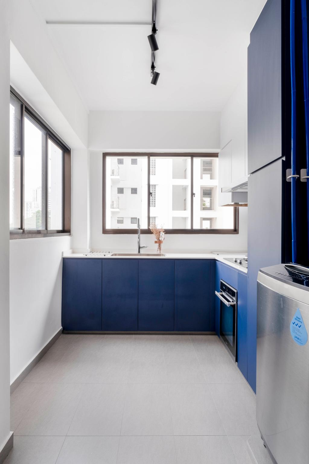 Modern, HDB, Kitchen, Boon Tiong Road, Interior Designer, Starry Homestead, Eclectic