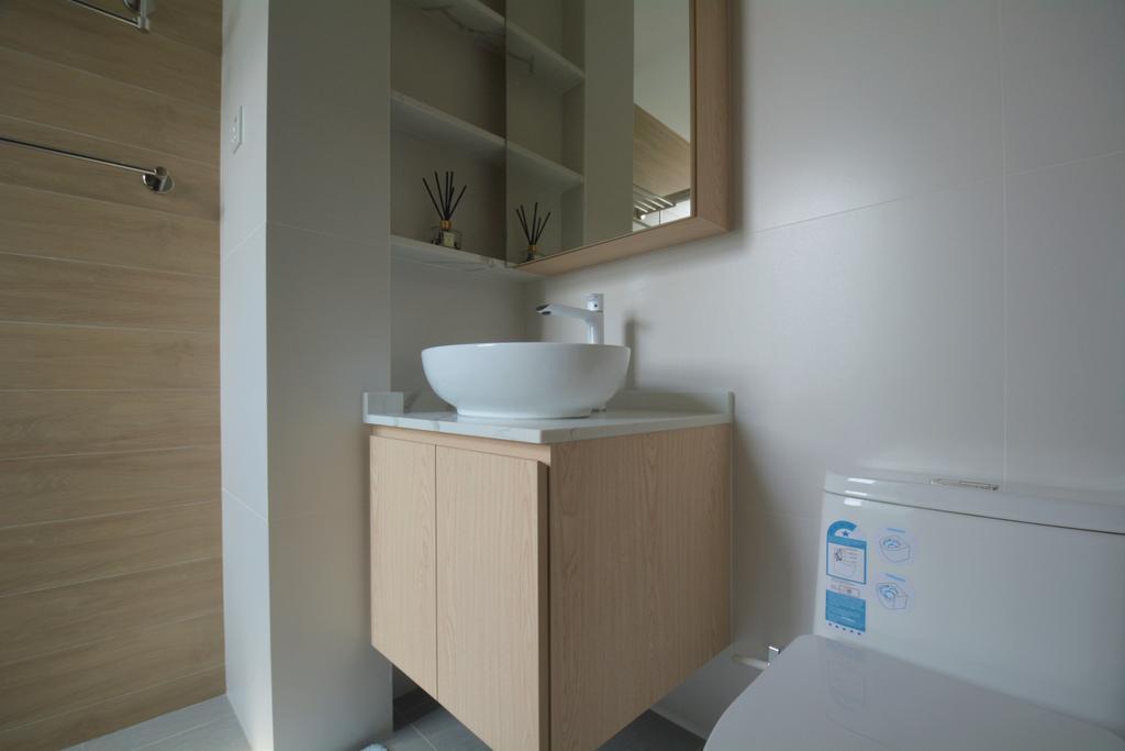 Modern, Condo, Bathroom, Hillview Crescent, Interior Designer, Brown Studio Interior Design, Scandinavian