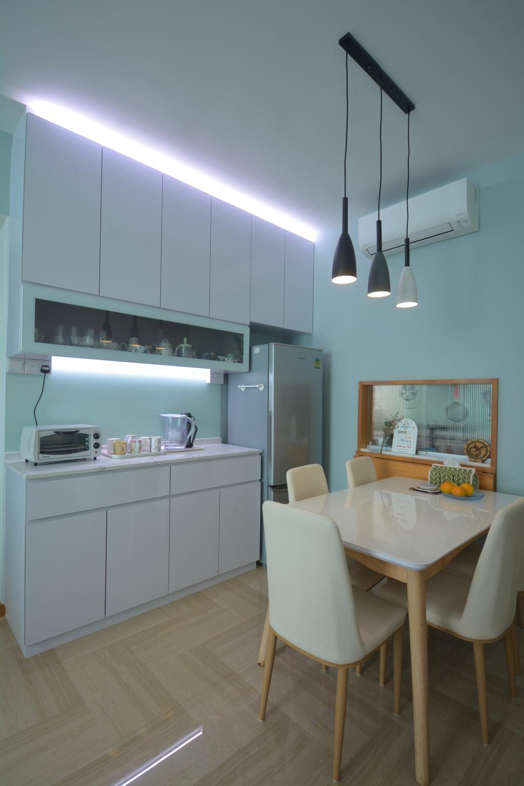 Modern, Condo, Dining Room, Hillview Crescent, Interior Designer, Brown Studio Interior Design, Scandinavian