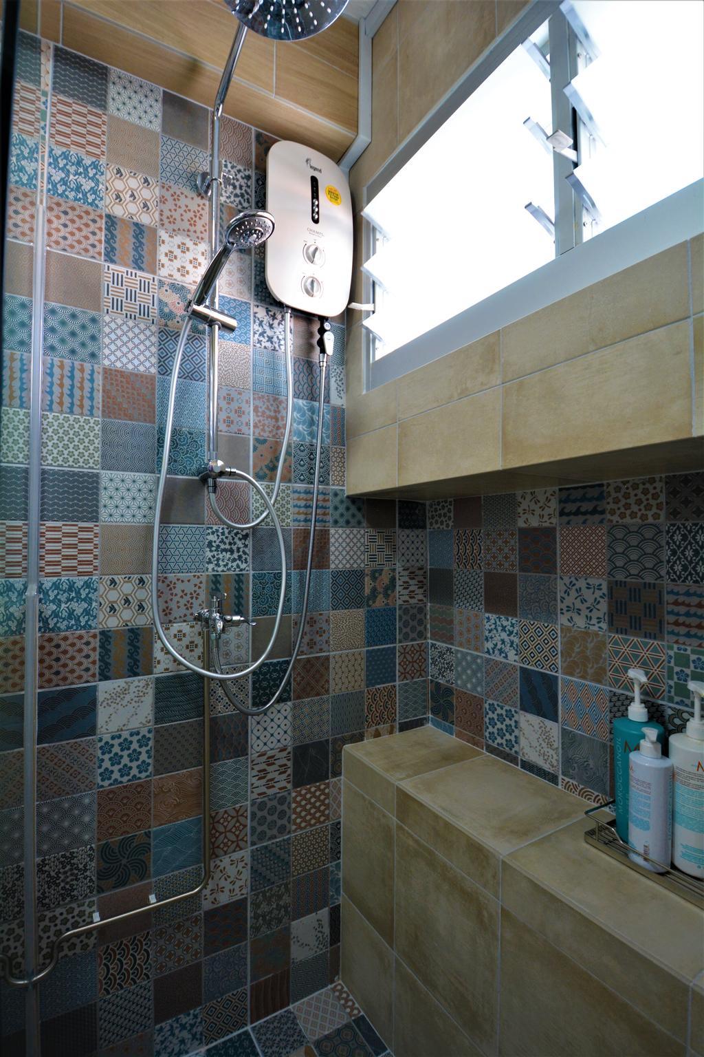 Modern, HDB, Bathroom, Pasir Ris Street, Interior Designer, Brown Studio Interior Design