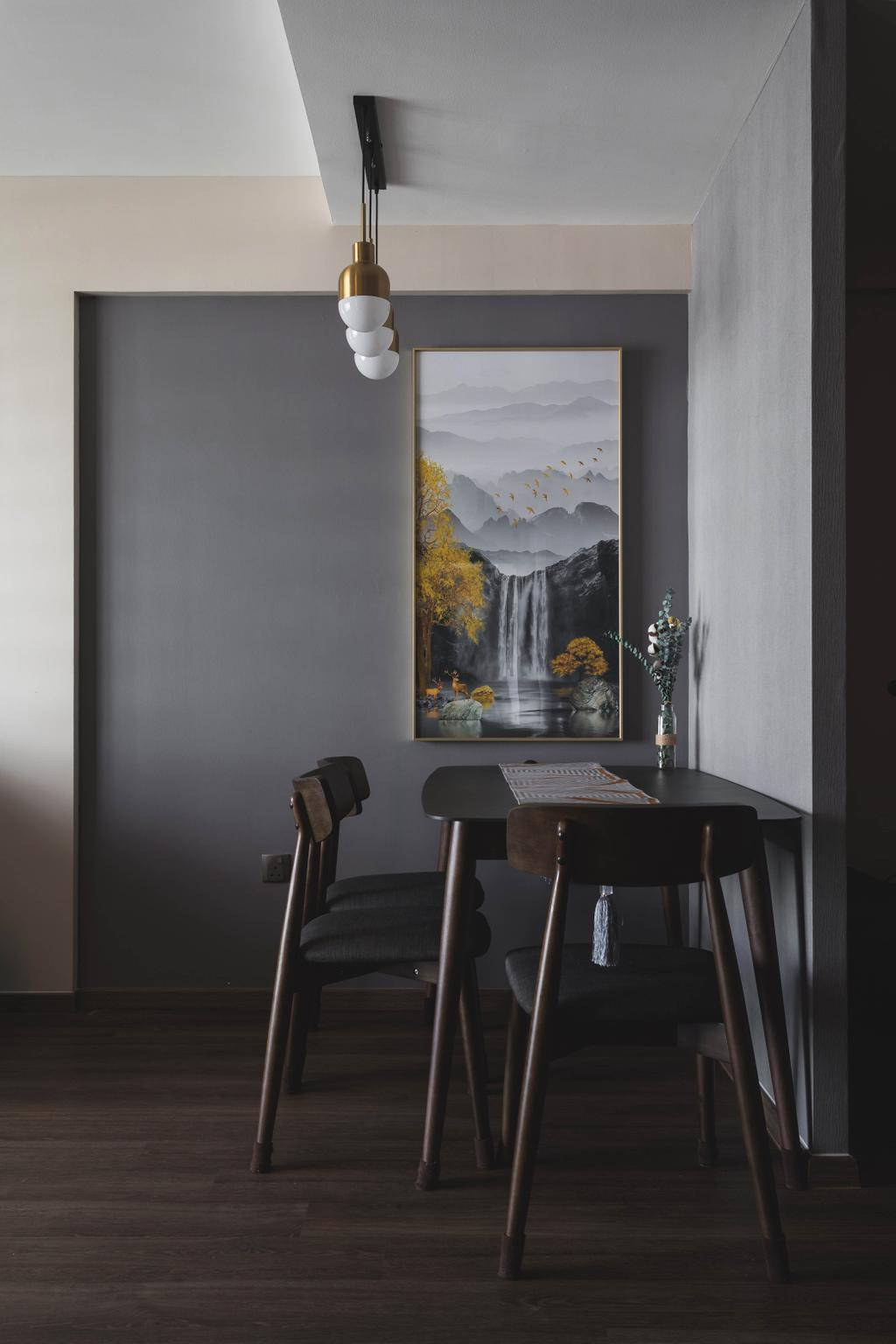 Modern, HDB, Dining Room, Punggol Place, Interior Designer, SHE Interior, Contemporary