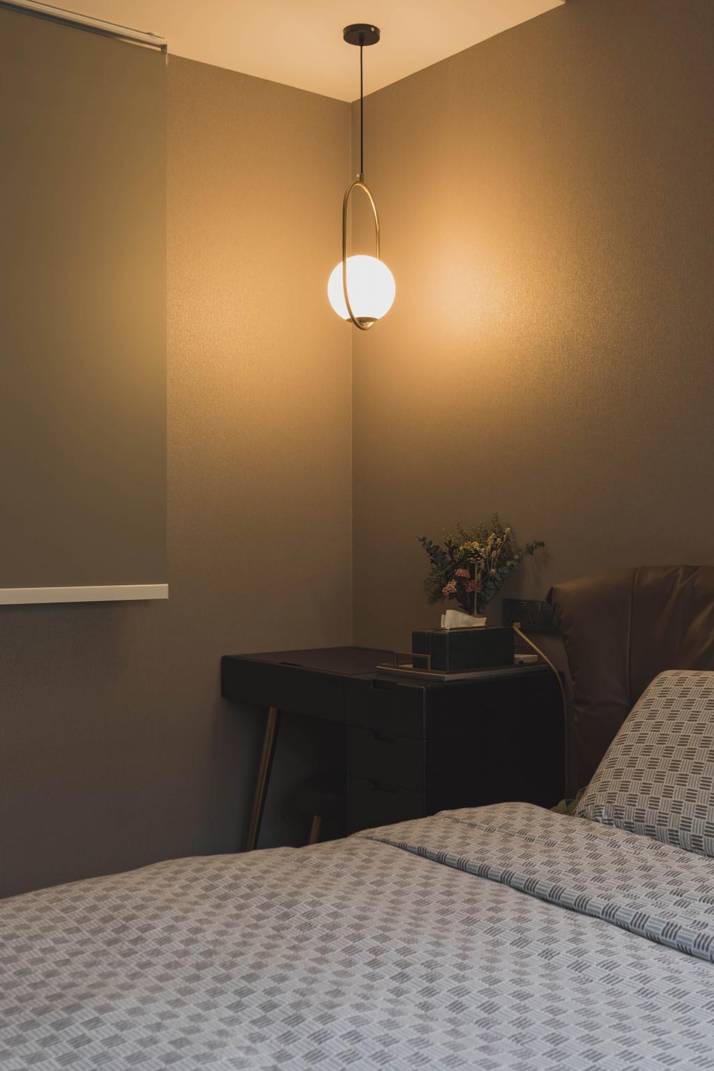 Modern, HDB, Bedroom, Punggol Place, Interior Designer, SHE Interior, Contemporary