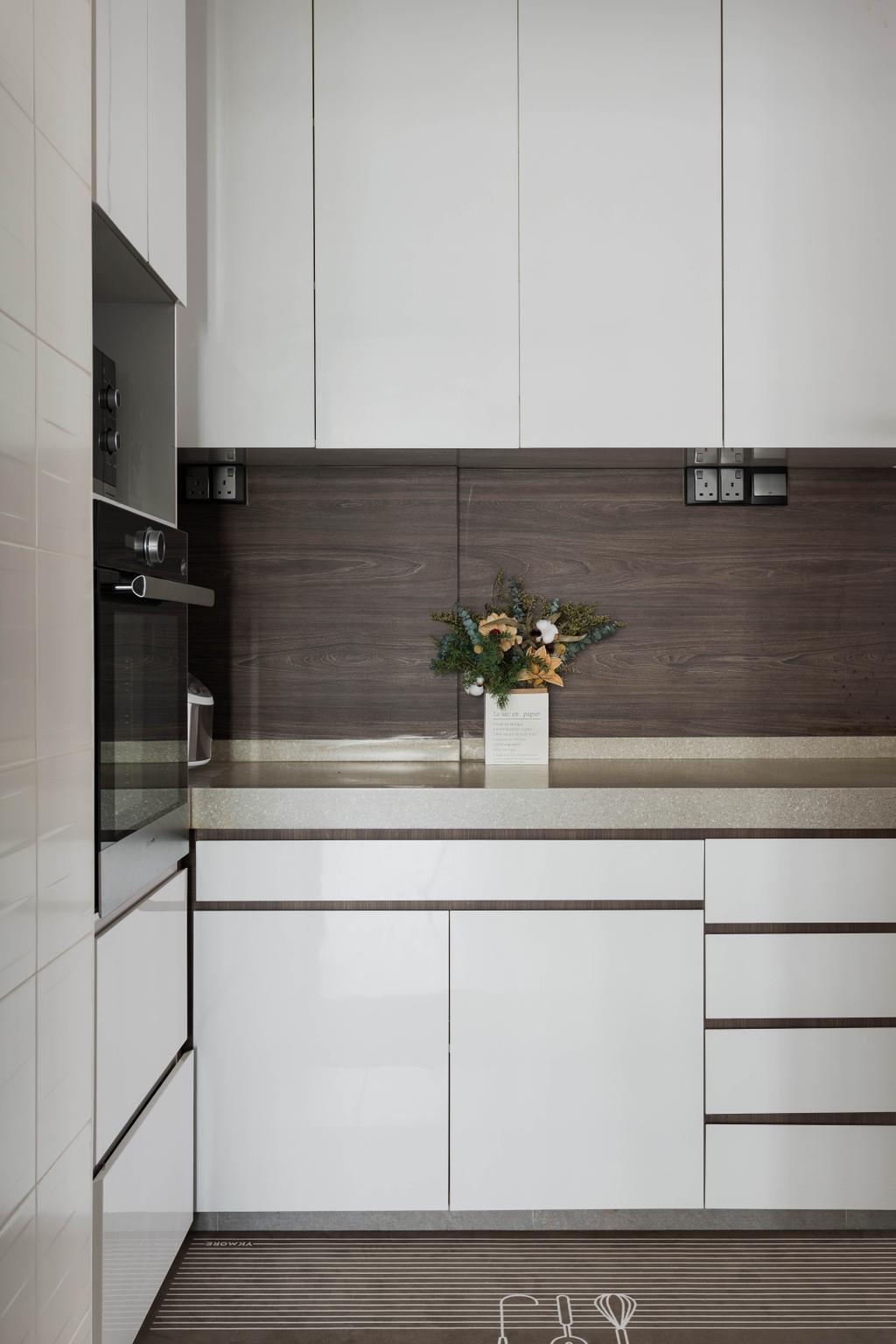 Modern, HDB, Kitchen, Punggol Place, Interior Designer, SHE Interior, Contemporary