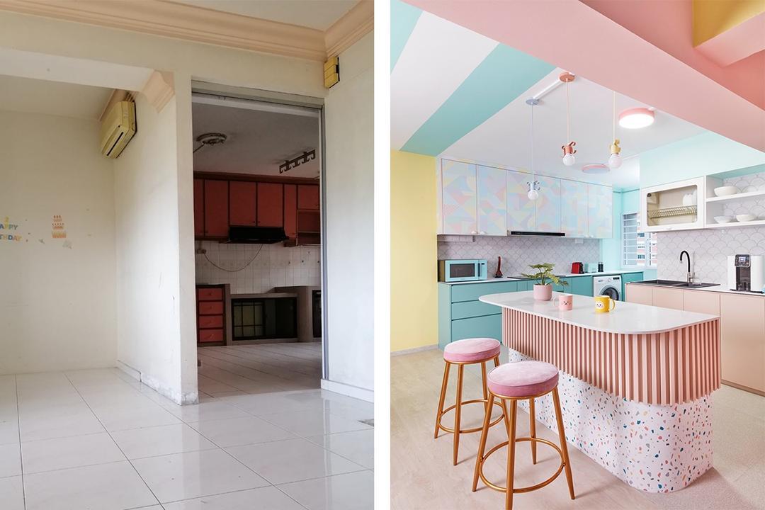 Singapore renovation HDB flat BTS