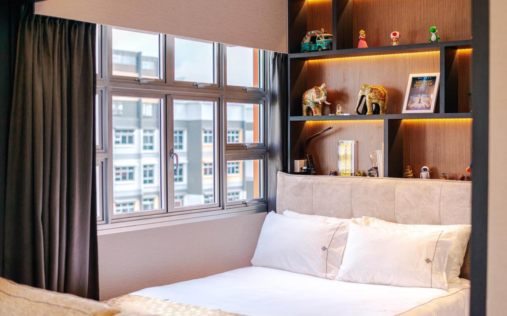 Modern, HDB, Bedroom, Bukit Batok, Interior Designer, Ataz Haus Interior Design, Contemporary