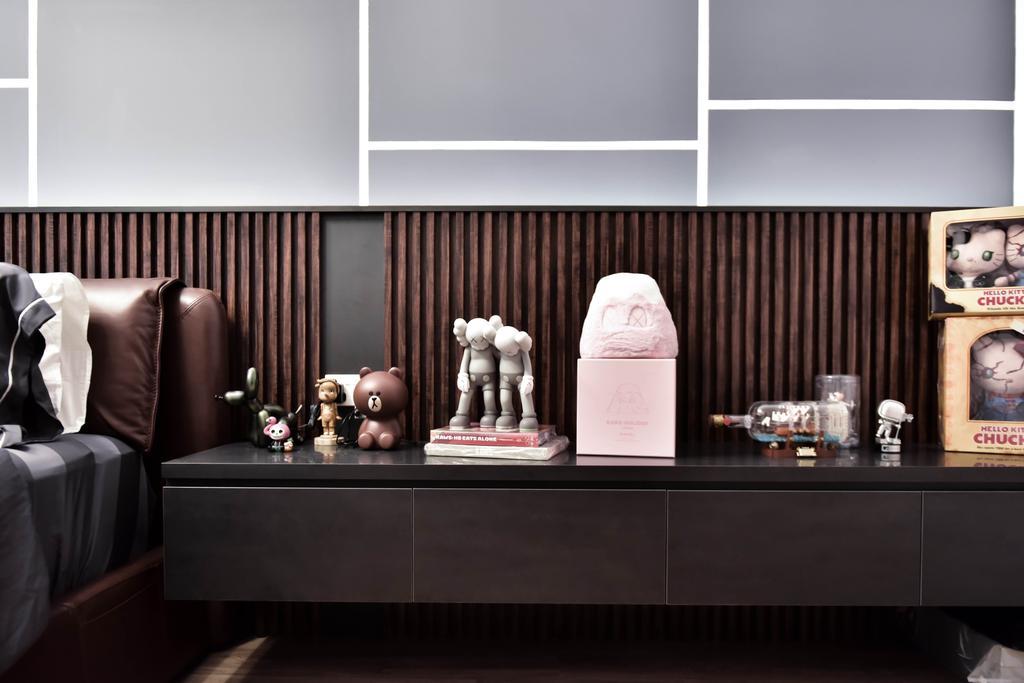 Contemporary, HDB, Bedroom, Clementi West, Interior Designer, Ataz Haus Interior Design
