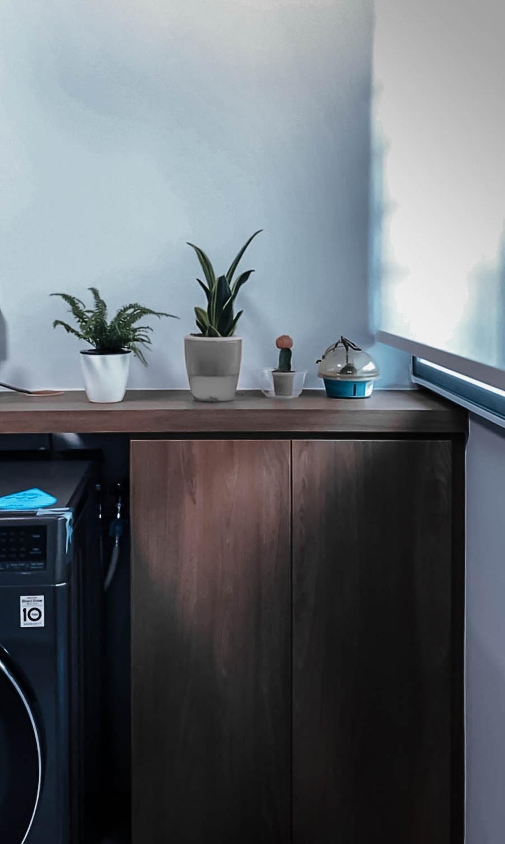 Contemporary, HDB, Kitchen, Clementi West, Interior Designer, Ataz Haus Interior Design