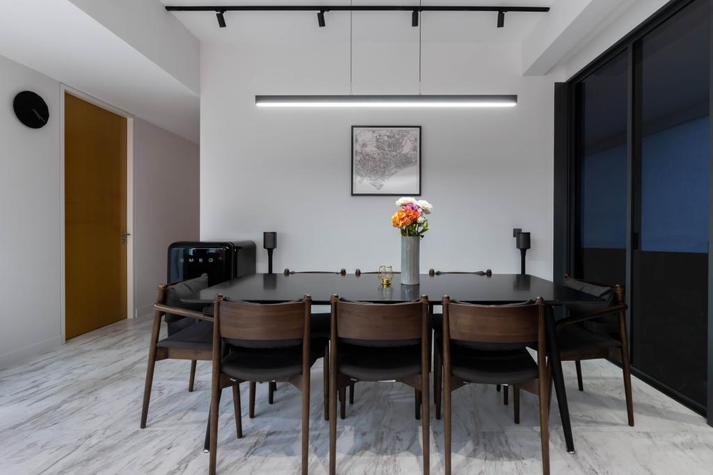 Modern, Condo, Dining Room, The Arte, Interior Designer, The Design Practice, Contemporary